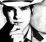 Ashton Kutcher Full: N3VERLAND by PortraitPencilArt
