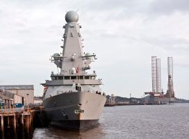 Destroyer HMS Duncan II by DundeePhotographics