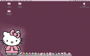 Hello Kitty - desktop by 3dera