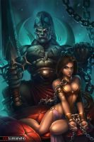 HAREM OF THE ORC KING by tony-tzanoukakis