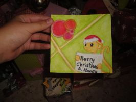 Christmas card for A. Nancy by BeeTrue