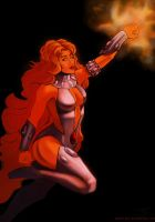 Starfire by duskflare