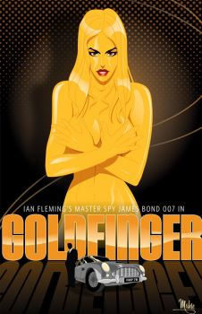 Goldfinger by MikeMahle