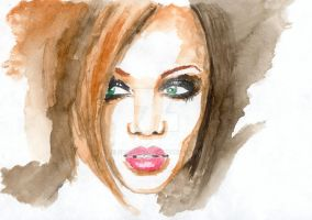 Tyra Banks by Shayca