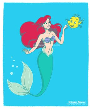 The Little Mermaid - Disney fan art collection by ariartna