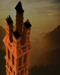 Ruined Tower... by LaxmiJayaraj