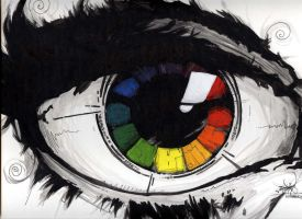 Color Wheel by pnutink