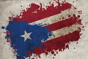 Boricua Spatter by noizkrew
