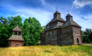 Wooden Church from Kisorchi by roman-gp