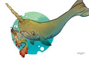 mer Norwhal Color by thailur