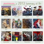 2013 Summary of Art by xiaoyugaara