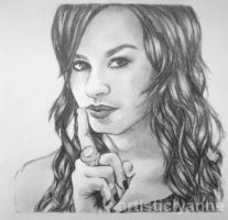 Demi Lovato Here We Go by artisticlyanne