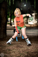 Rikku - Ready to fight! by Bexxin