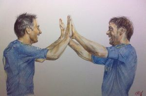 Lampard and Ivanovic by julia94s