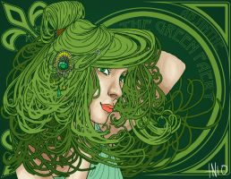 The Green Faery by Plutos-Eye