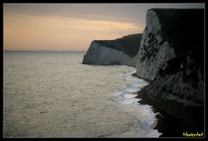Along the Beach at Durdle Door by neolestat