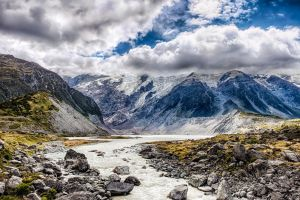 Mount Cook National Park by wolfblueeyes