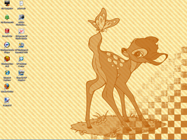 Checkerboard Bambi by Dreyfus2006
