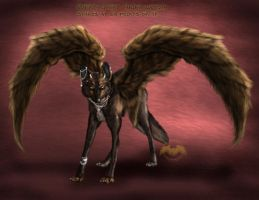 ...::: Furry-Winged-Canine Auction CLOSED:::... by AmorpheusArtII