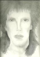 Ziggy Portrait in Pencil by silvermoon822