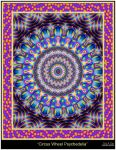 Circus Wheel Psychedelia by Eccoton