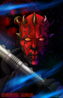Darth Maul 2.0 by FuShark
