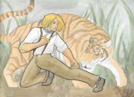 Four Legendary Beasts: Tiger by BoomersRoundTheBend
