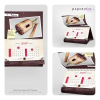 Smelting Calendar 2009 by paperplay