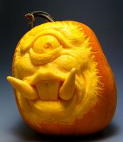 Cyclops Pumpkin by AlfredParedes