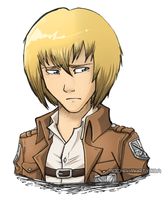 [SnK] - Armin Arlert by Inklash