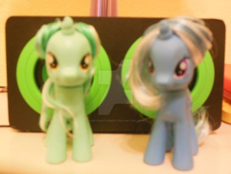 Lyra And Trixie's New Hairstyle by ChryssieTheBest