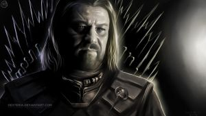 Eddard Stak of Winterfell by Dexteria