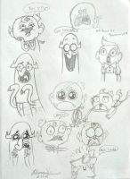 Flapjack Expressions by FoxAndLeo4Ever