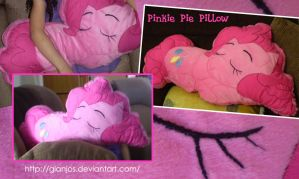 Pinkie Pie Pillow by gianjos