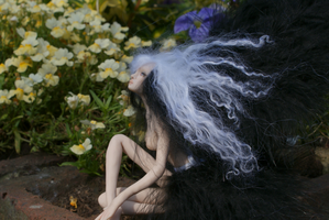 Raven Faery 4 by gingerbouf