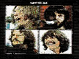 The Beatles Let It Be Mosaic by GmannyTheAnimator
