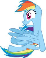 Rainbow Dash Shocked by rorycon