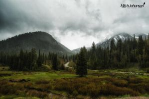 Spring Rain in the Wasatch by mjohanson