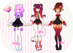 [OPEN] ADOPTABLE BATCH #13 by OCshop