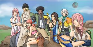 Final Fantasy XIII by LightningGuy