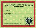 HT Adoption certificate by Tea-why