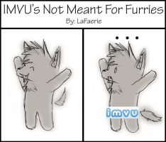 IMVU Is Not Meant For Furries by LaFaerieLove