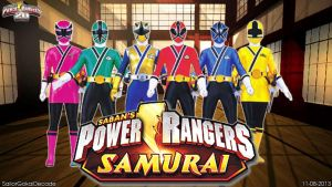 Power Rangers (Super) Samurai WP by jm511