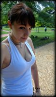 At The Park by 13hell0kittiekd