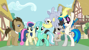 We are Background Six! by greendwarf333