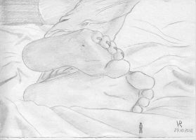 in the bed giantess by VRSeverson