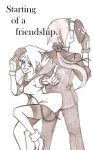 Starting of a friendship cover by KuroTempesTa