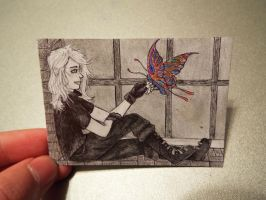 #8 ACEO for Drachenmagier: iD by Starfish2o