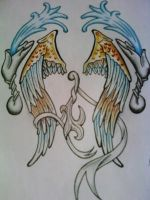 Wings Tattoo Comp Entry 3 by tattoo-parlour