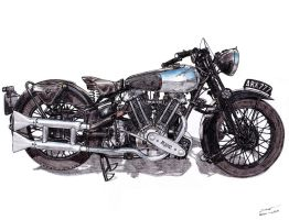 11100.2 - 1937 Brough Superior SS100 by TwistedMethodDan